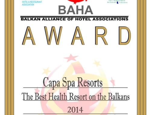 """Fituam çmimin """"Resorti më i mirë mjeksor"""""""
