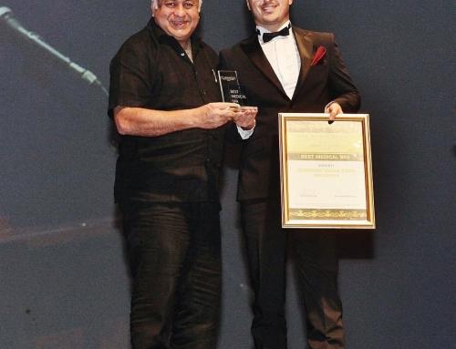Balkan SPA Awards 2015 Winner